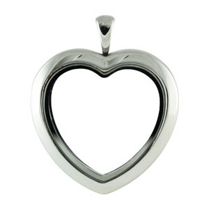 Picture of Silver Tone Heart Locket